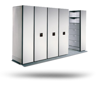 Standard compact mobile storage system