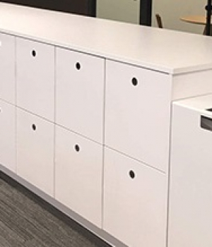 touchless lockers for a office